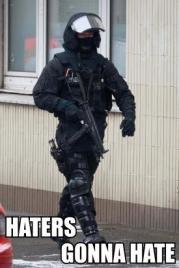 guns make you a prick